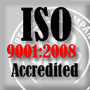 ISO 9002:2008 Accredited